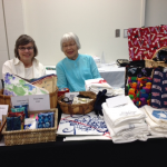 Lucy Kirihara & Margit Jordan at the Normandale Garden Boutique