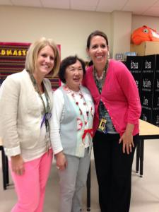 Pioneer Ridge Middle School, Teachers: Cindy Johnson and Nancy Hauser